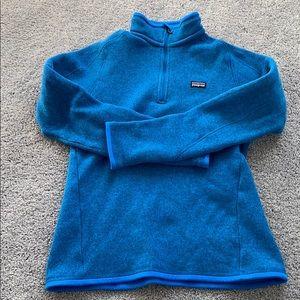 Patagonia half zip fleece pullout